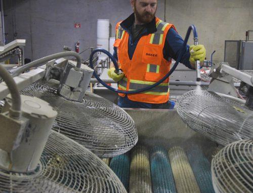 Decco Sanitation Initiatives and Aerosol Technique